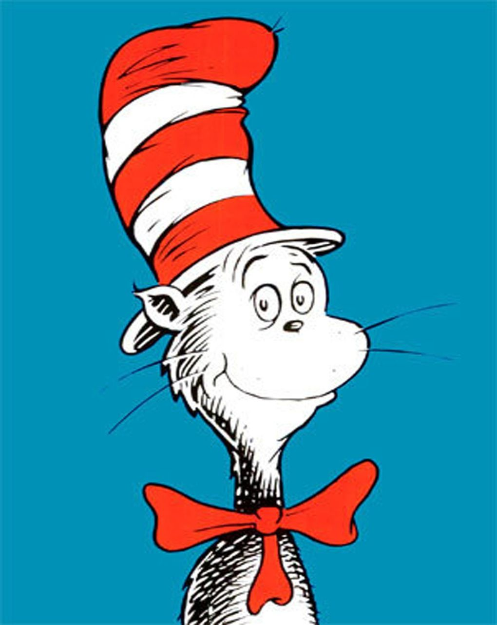 Coloring page of cat in the hat - The Cat In The Hat