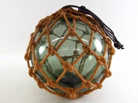 Hanging Net Glass Orb