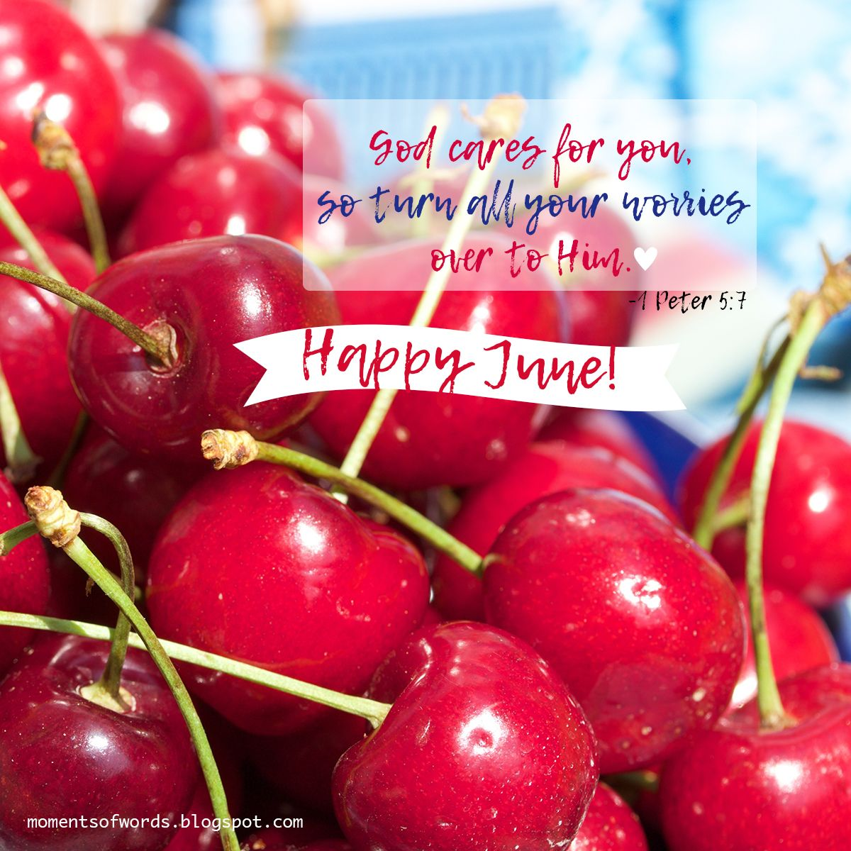 Have a blessed June! ♥ #happyjune | Happy june, Welcome ...
