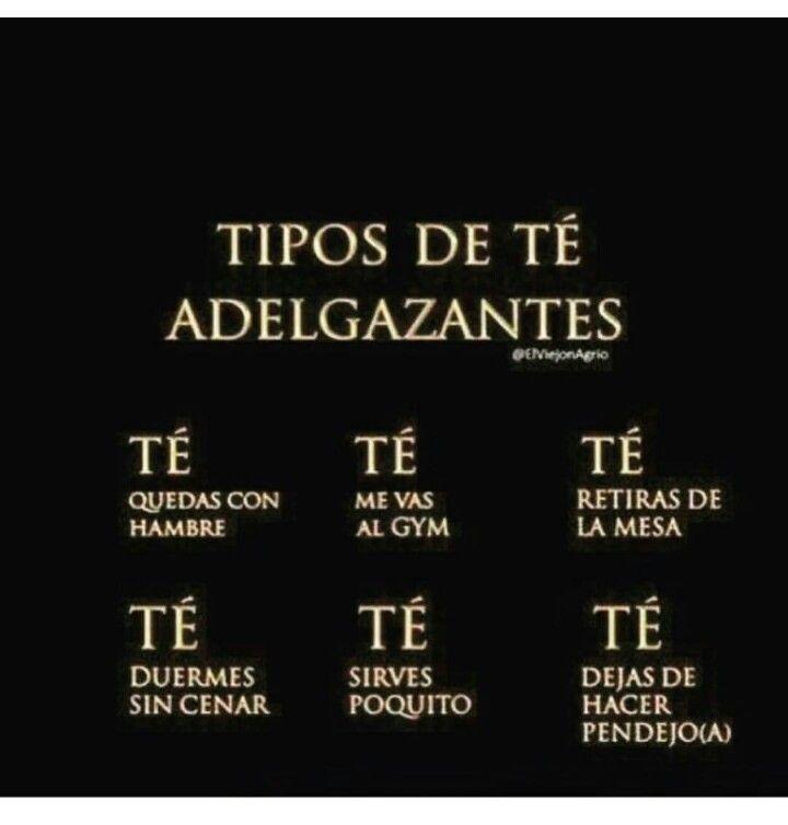 Tipos de TE adelgazantes #makemelaugh #mexicanhumor