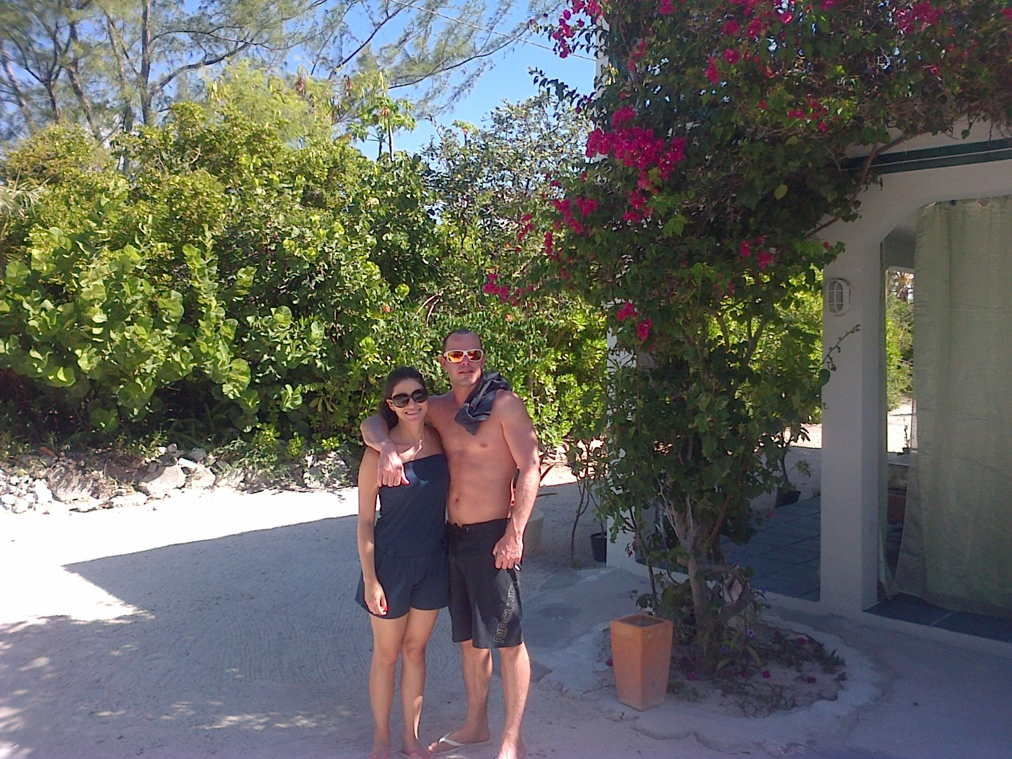 Beautiful Sunday At Silver Palm Beach House Considering A Swim To Cool Off Grace Bay