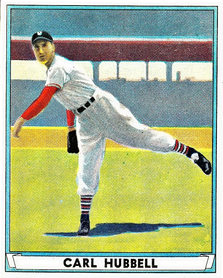 6 - Carl Hubbell - New York Giants