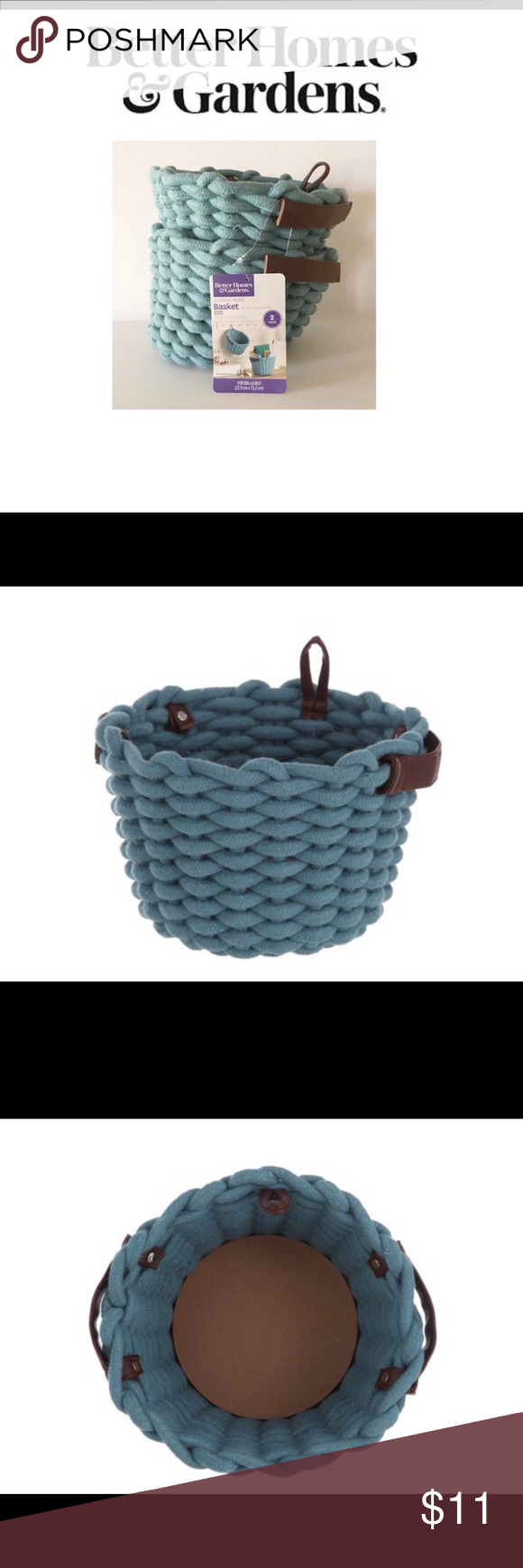 eb2bccda47ad2a6002ea478b68e431d0 - Better Homes And Gardens Chunky Rope Basket