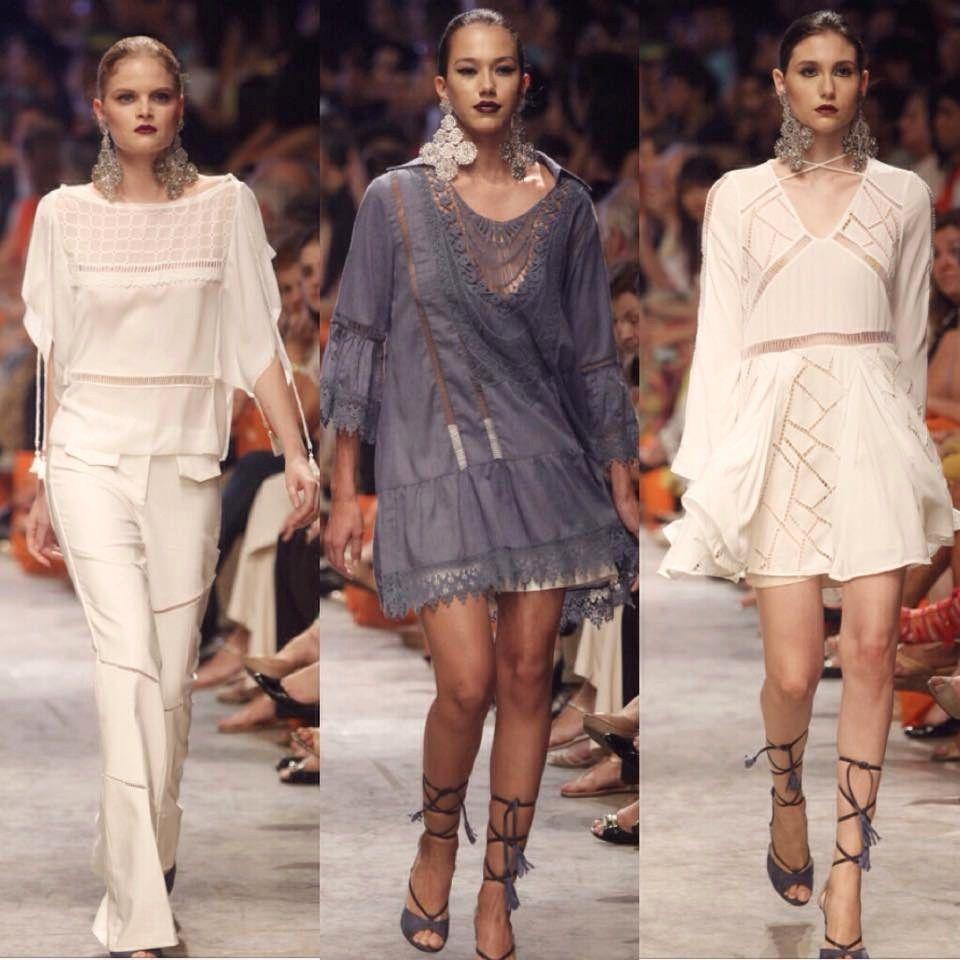Vestidos em Rendas e outros looks luxuosos do Dragão Fashion Brasil 2015