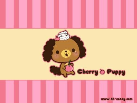 Cherry puppy