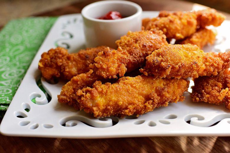 Capn Crunch Chicken Strips Recipe Chicken Recipes Pinterest