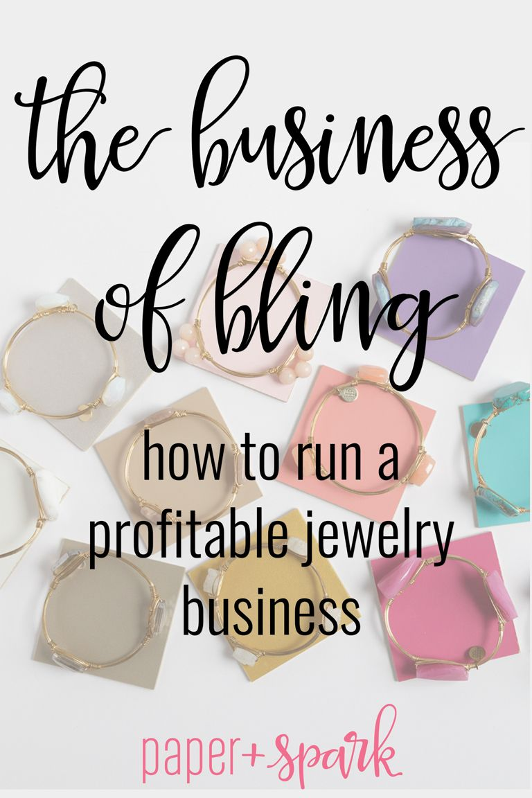 The Business Of Bling  How To Run A Profitable JewelryMaking