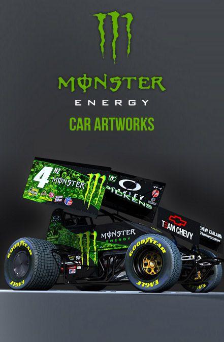 Monster Energy Art Car Artworks Based On Monster Energy Drinks