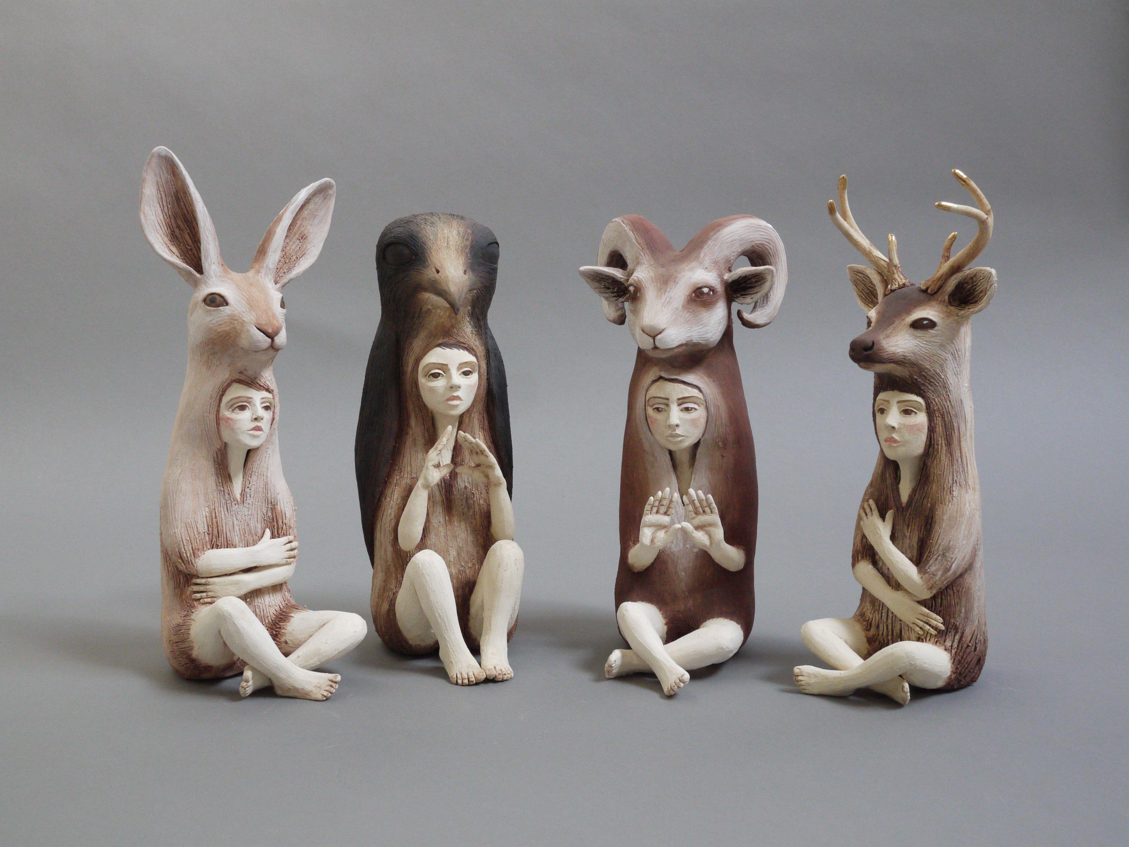 Crystal Morey Predator And Prey Bedford Gallery Walnut Creek Ca 2013 Art Sculpture Sculptures