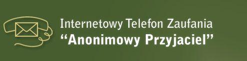 Logo 'Anonimowy Przyjaciel' Poland