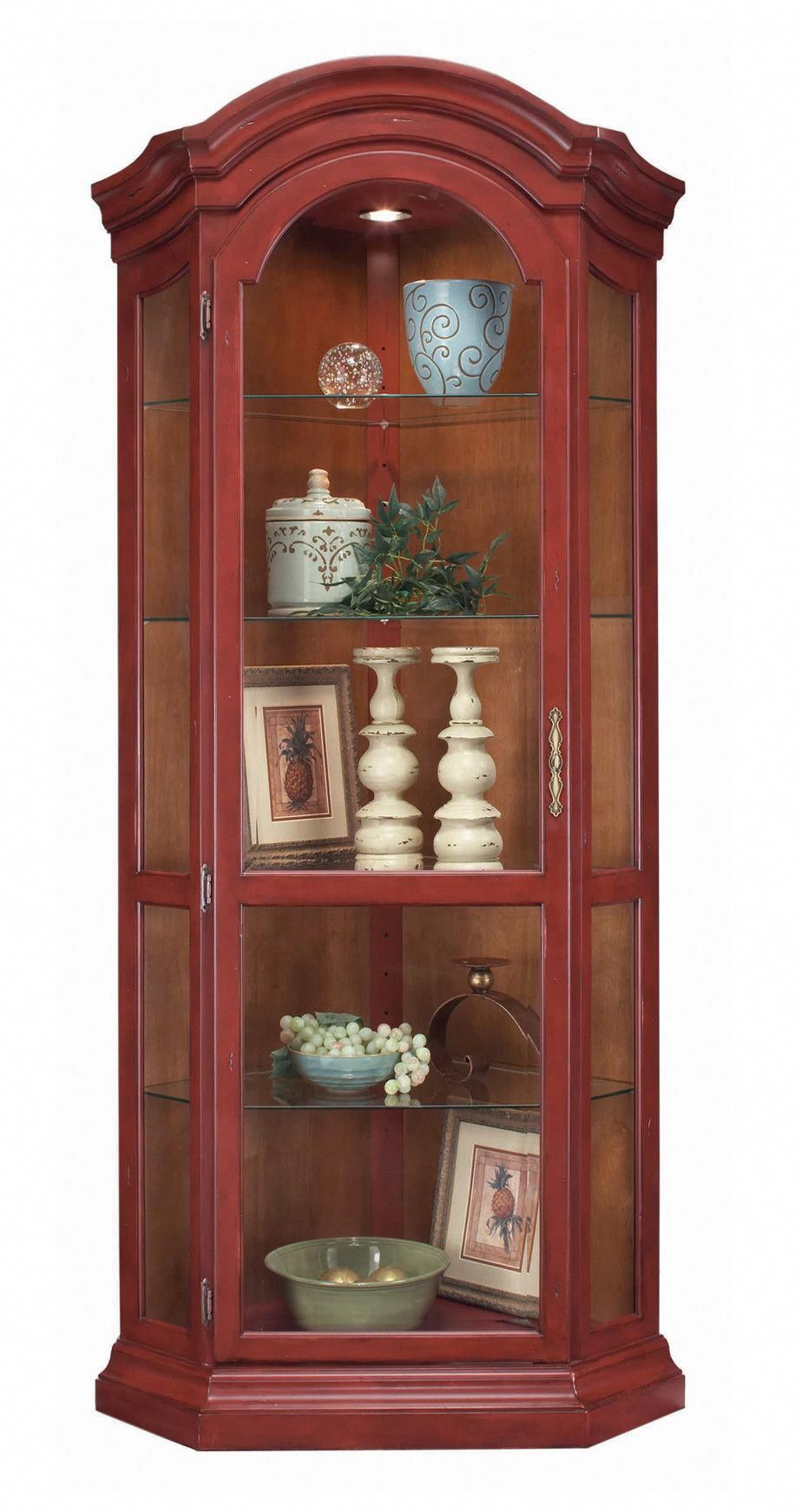 Glass Shelves Wall Units Corner Curio Curio Cabinet Corner Display Cabinet
