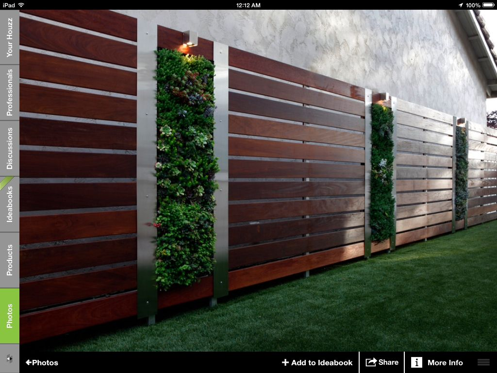 nice fence | outdoor transformations | pinterest