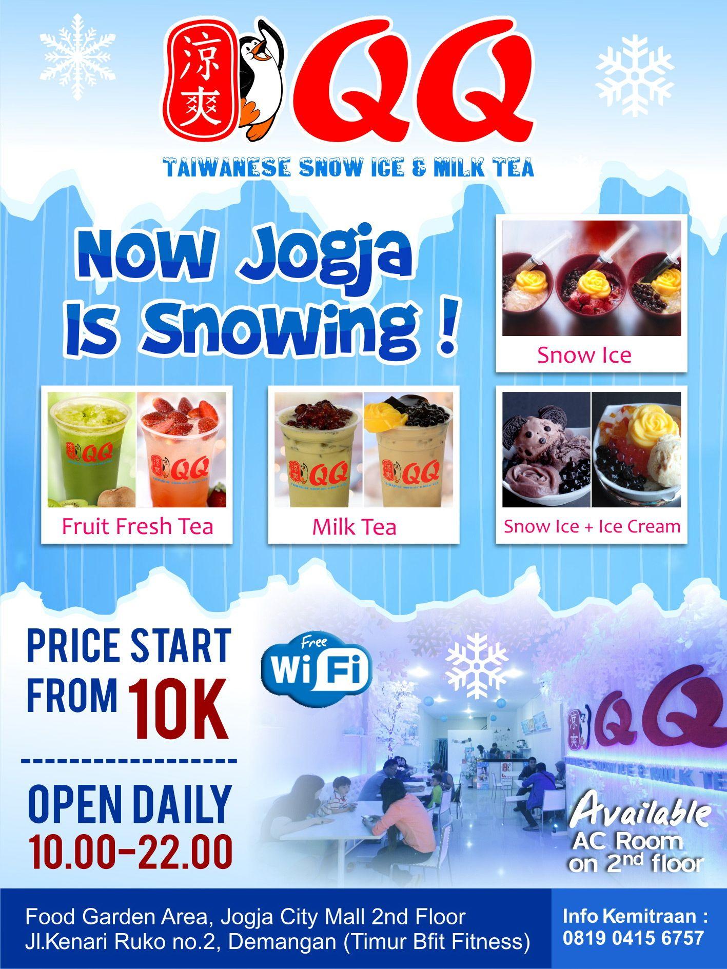 Pin Oleh Media Angetan Com Di Qq Taiwanese Snow Ice Milk Tea Dengan Gambar Matcha Salju Kartu