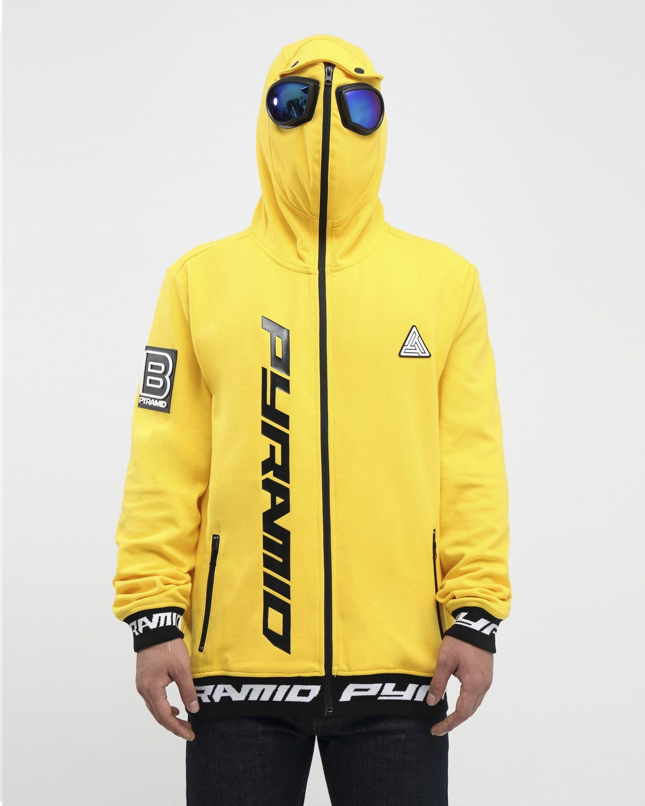 065fe771 Goggles zip up jacket - s / black in 2019 | Fresh Apparels and ...