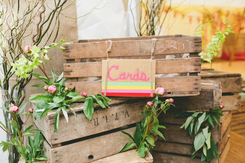 Contemporary festival inspired marquee wedding with a neon meets contemporary festival inspired marquee wedding with a neon meets nature theme and bride in a blush gown by sarah seven with bridesmaids in black with colour junglespirit Images