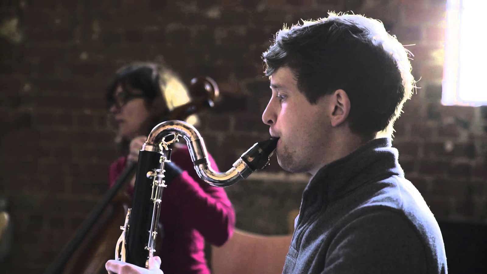 Immix Ensemble, a saxophone player from Australia, pairs