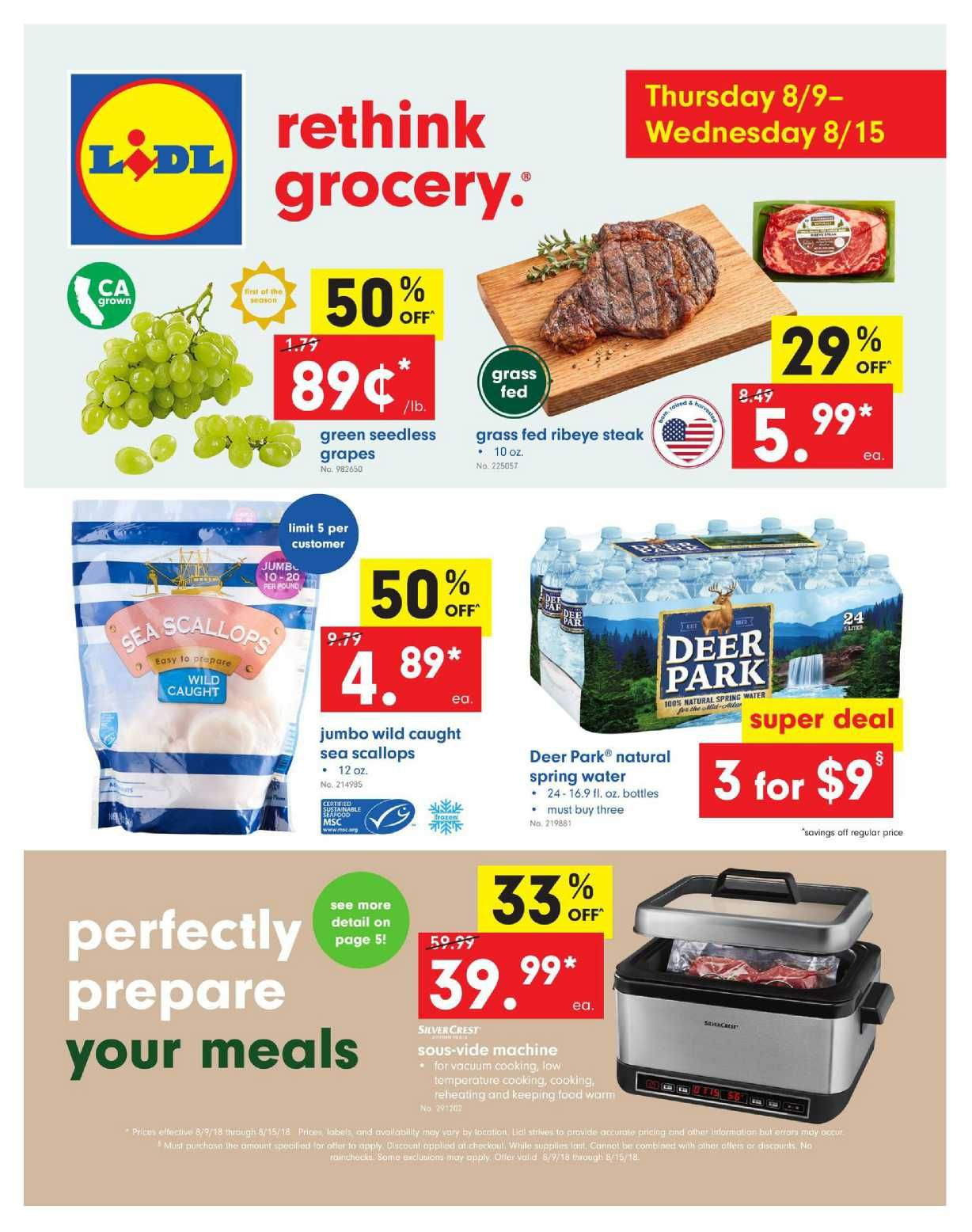Lidl Weekly Ad Specials Flyer Feb 19 Feb 25 2020 Weeklyad123 Com Weekly Ad Circular Grocery Stores Grocery Savings Grocery Grocery Store