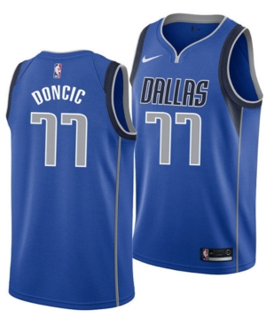 quality design a9662 5959f Nike Luka Doncic Dallas Mavericks Icon Swingman Jersey, Big ...