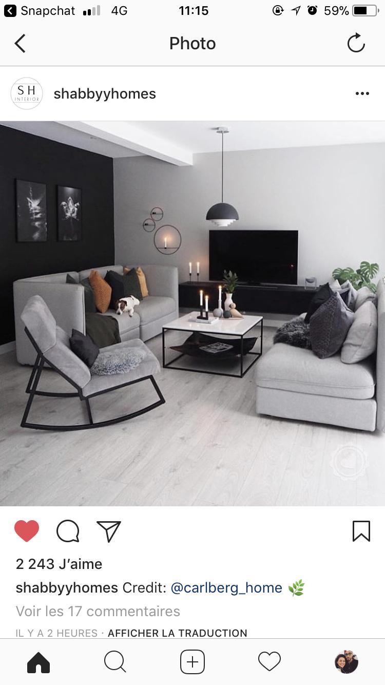 Sejour  Décoration salon appartement, Idée déco salon moderne