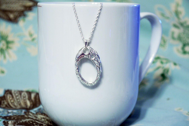 AloraLocks THE ORIGINAL Oval Lattice Filigree Wedding Ring