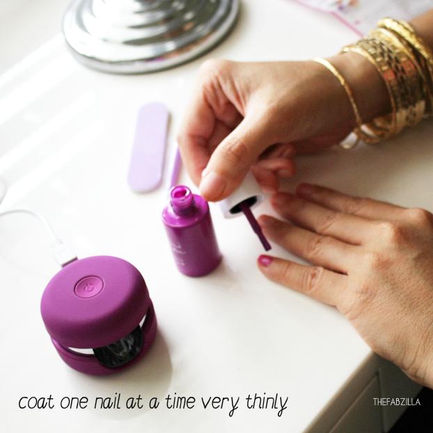 DIY GEL MANICURE | Le Mini Macaron Gel Manicure Kit | Le Mini ...