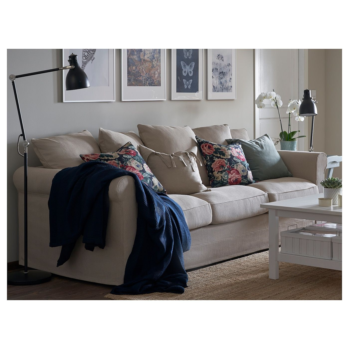 Ikea Gronlid Sporda Natural Sofa In