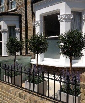 small modern country front garden - Front Garden Design Victorian Terrace