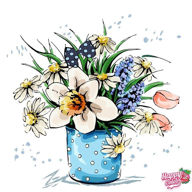 Пин от пользователя Olga на доске Рисунки из Happi Color в ...