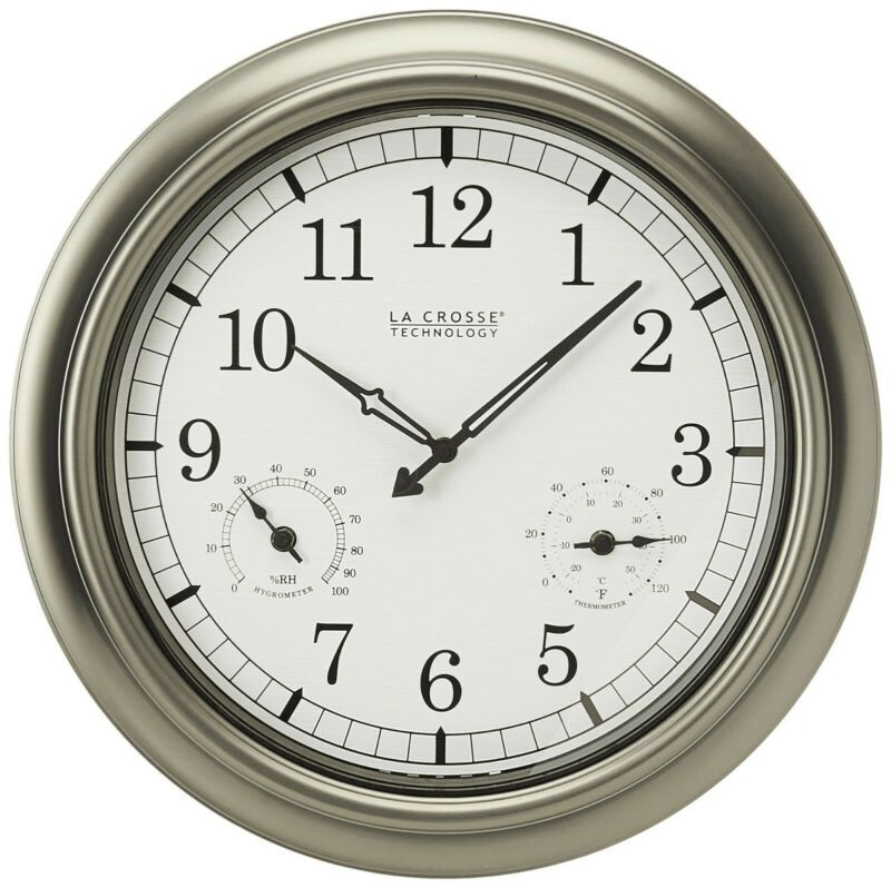 Better Homes And Gardens 28 Wall Clock Oil Rubbed Bronze