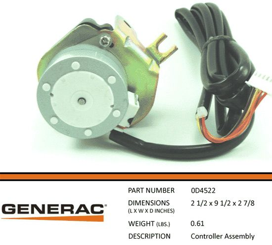 GENERAC 0D4522 Controller Assembly Electrical supplies