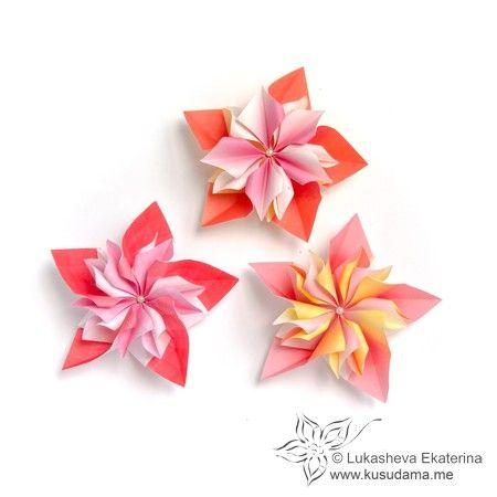 Kusudama Me Site About Modular Origami Origami Crafts Origami Techniques Origami Flowers