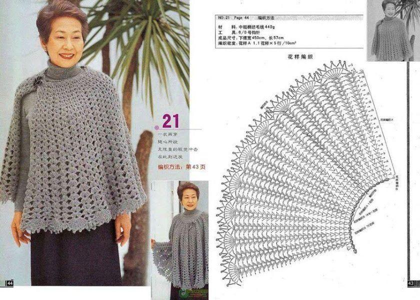 Crochet Capelet | manço | Pinterest