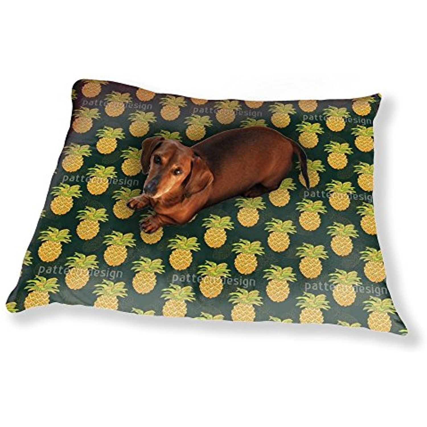 Ripe Pineapples Dog Pillow Luxury Dog / Cat Pet Bed You