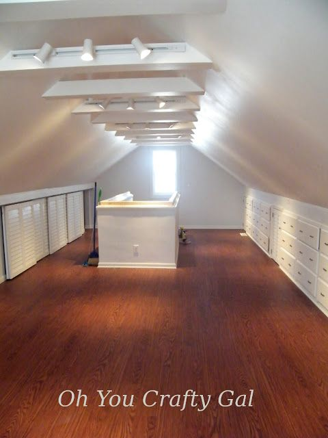 Attic Reno Dream Craft And Sewing Room The Final Results