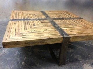Modern Rustic Furniture Coffee Tables Orange County By Metal Tree