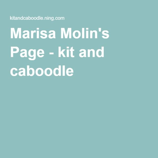 Marisa Molin's Page - kit and caboodle
