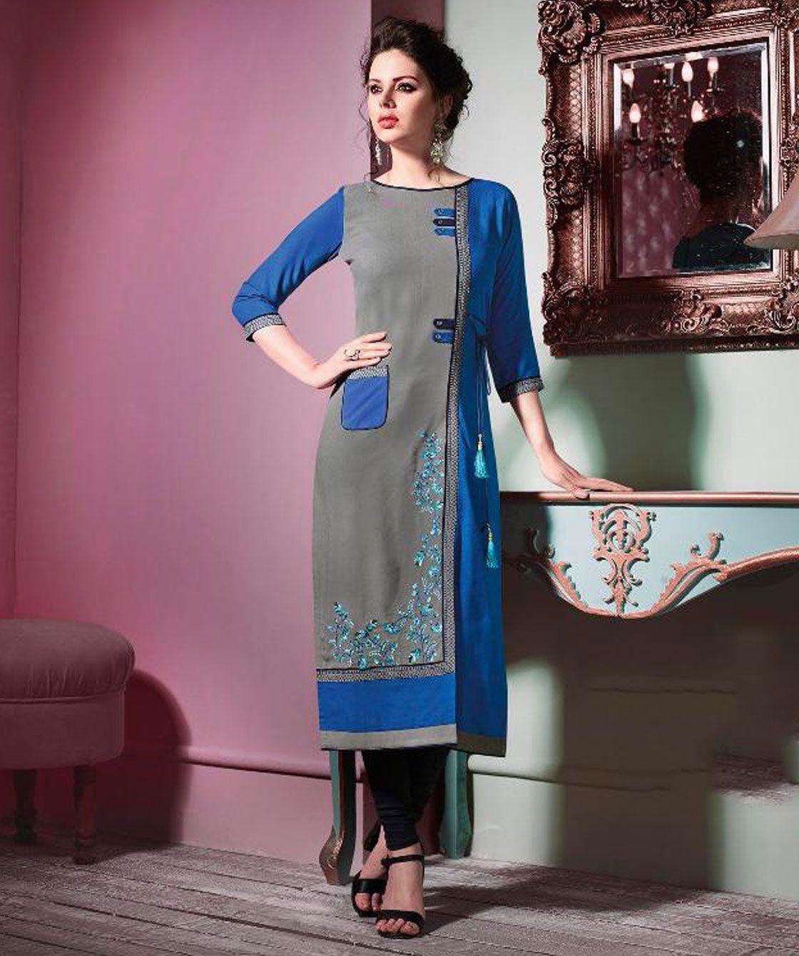 Buy Designer Clothes In Bulk | Printed Kurtis Wholesale Formal Wear Designer Kurtis Buy Kurti In