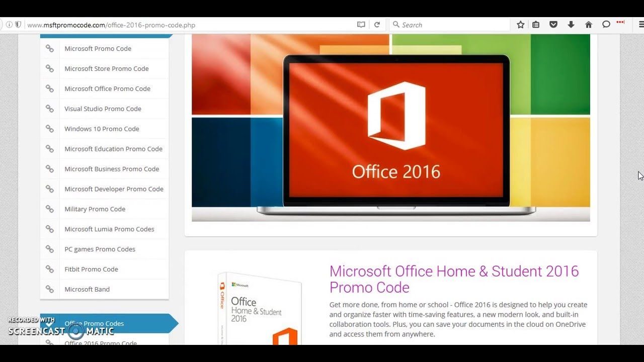 Pin by Microsoft Promo Code on Office 2016 Promo Code