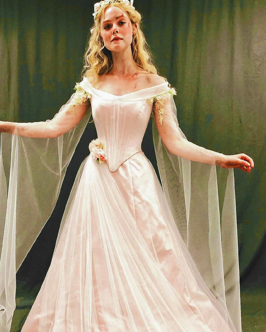 aurora wedding dress cartoon
