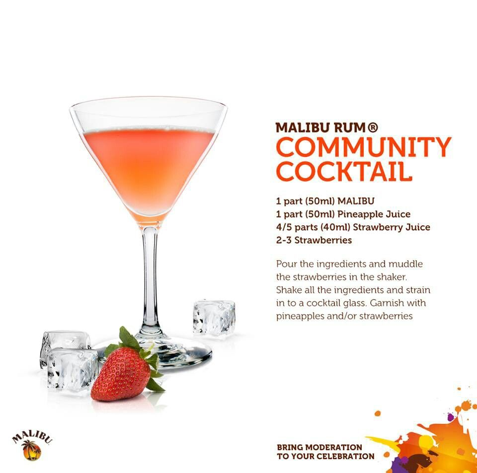 Malibu Rum Community Cocktail