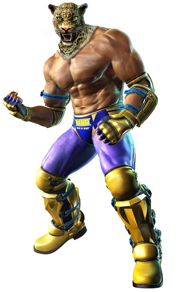 King Characters Art Tekken 6 King Art Character Art Game