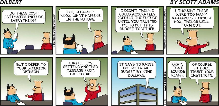 dilbert resume cartoon