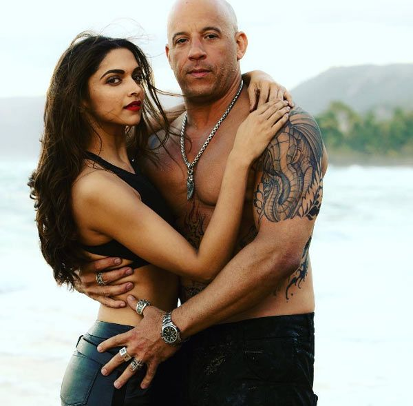 This Passionate Picture Of Deepika Padukone And Vin Diesel Might Make Ranveer Singh Really Jealous Vin Diesel Deepika Padukone Return Of Xander Cage
