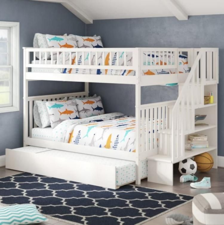 Best Kids Bunk Bed Design Ideas Bunk Bed With Trundle Bunk Bed