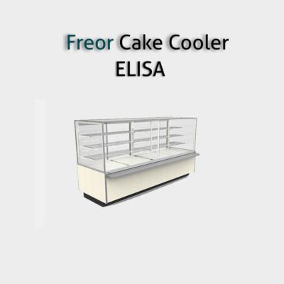 ثلاجات عرض حلويات و الكيك والجاتوه لمحلات الحلواني وهى تتميز عن غيرها من ثلاجات العرض بوجود وحدات إضاءة أعلى ومتميزة و Display Refrigerator Supermarket Cooler