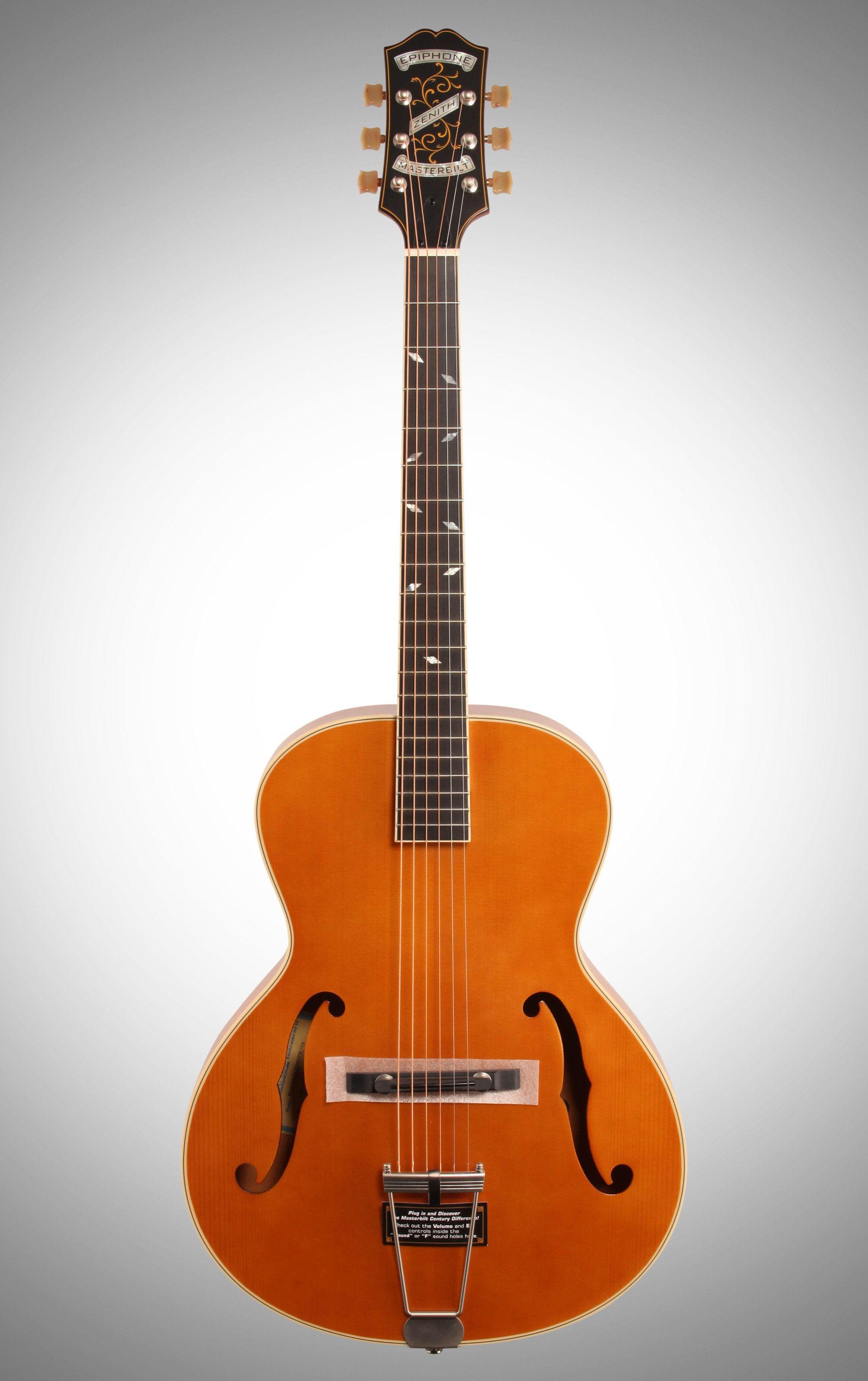 Epiphone Century Zenith Classic Epiphone Custom Acoustic Guitars Archtop Acoustic Guitar