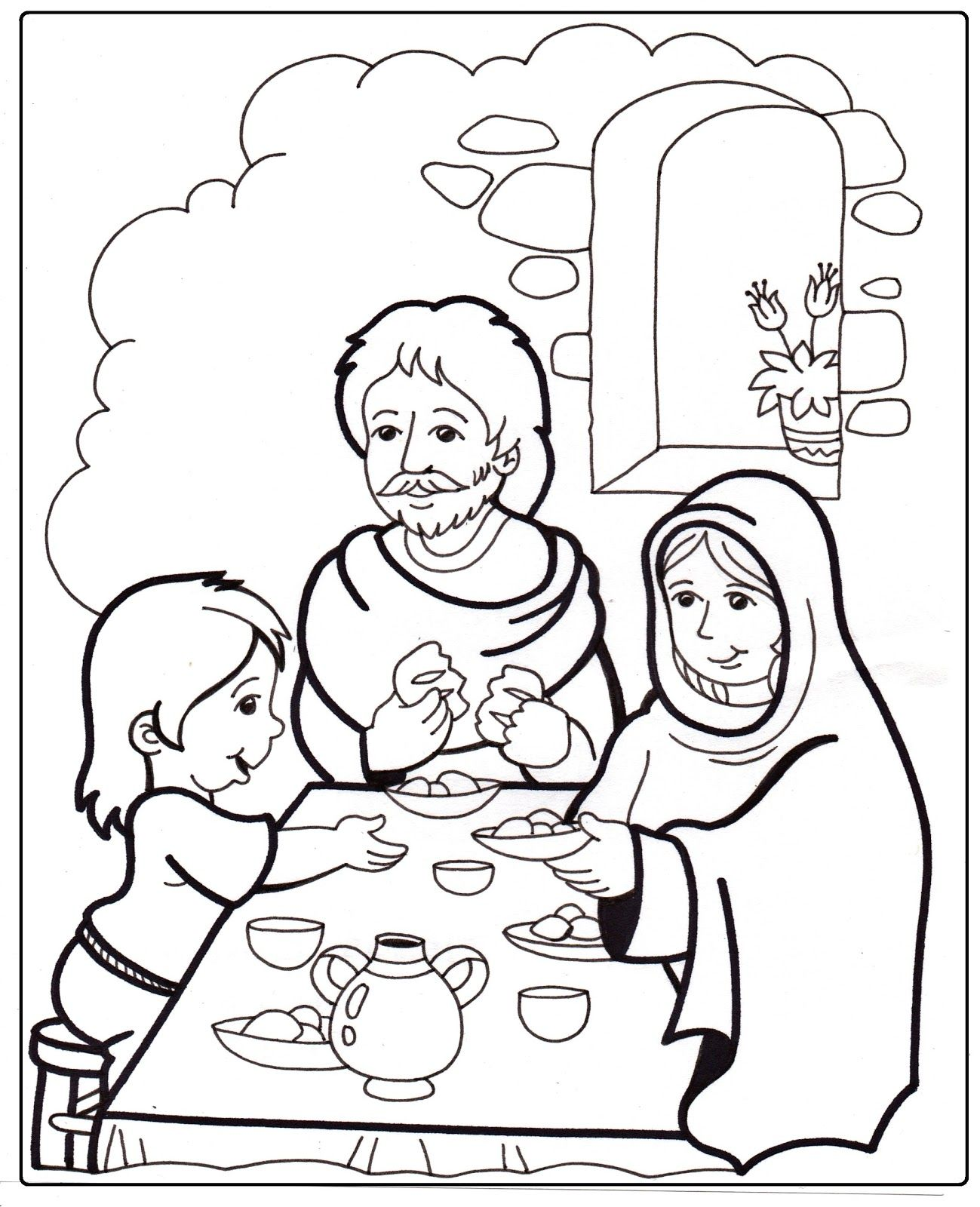 La Anunciación A María José Lleva A María A Su Casa María