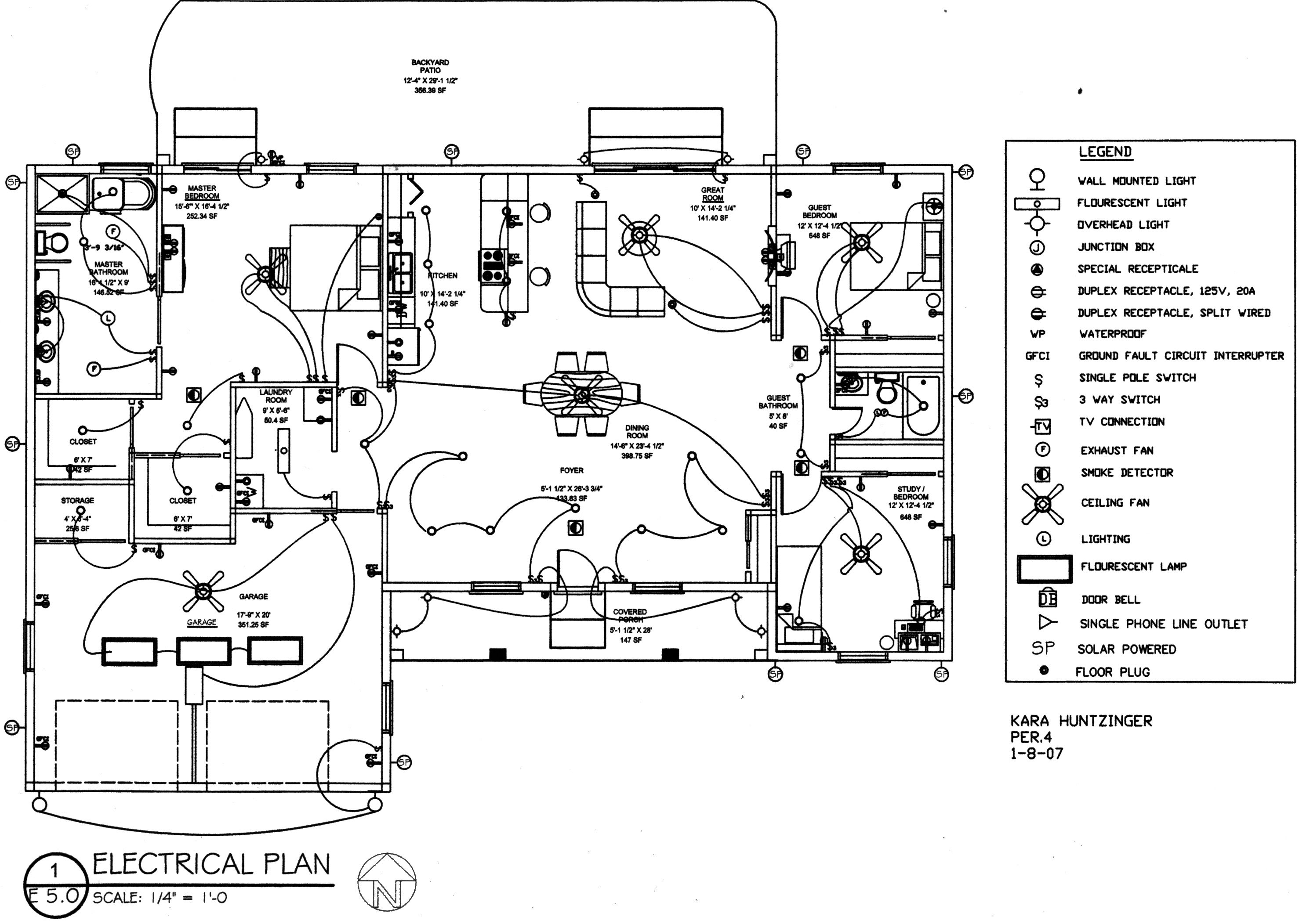 electrical plan house wiring library 3 bedroom 2 story house plans electrical plan 2 bedroom [ 2956 x 2104 Pixel ]
