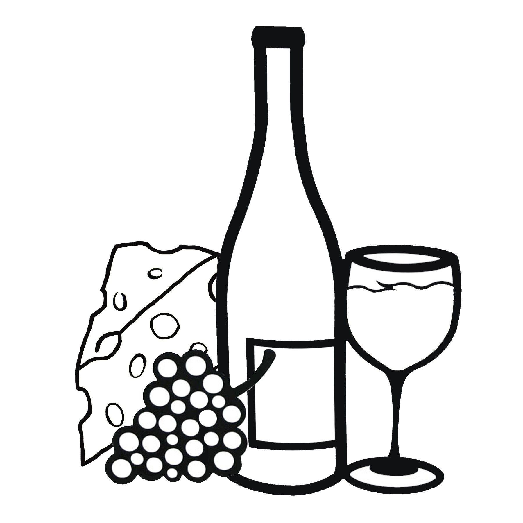 Images For Wine Glass And Grapes Clipart Wine Glass Tattoo