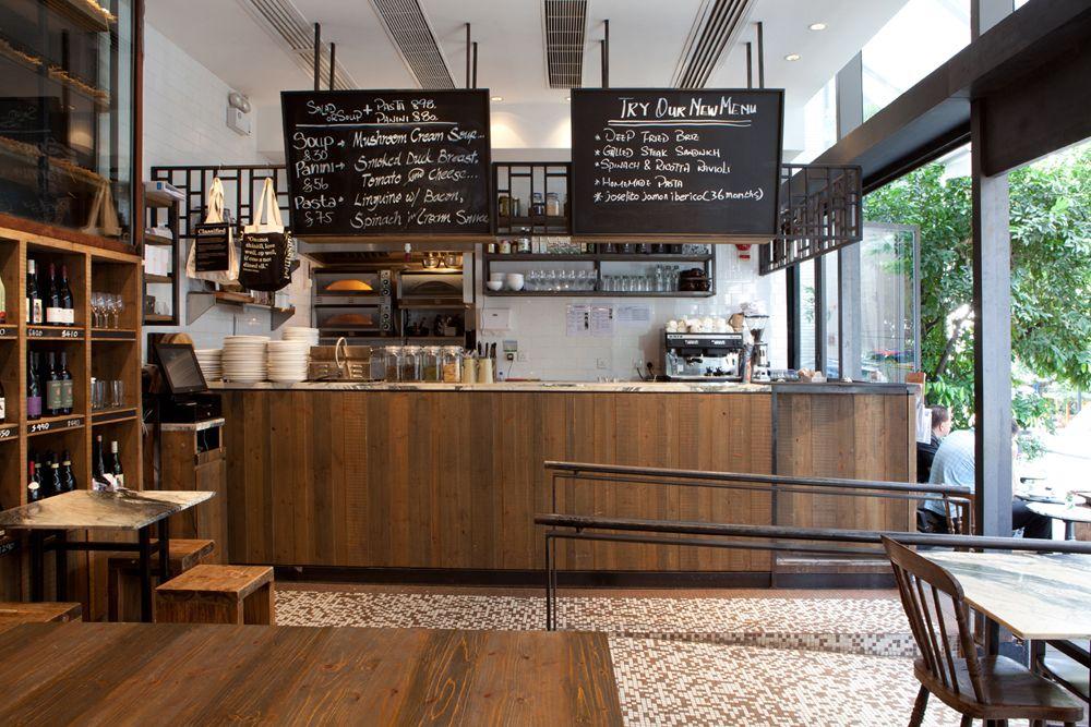 Rustic Cafe Interior Design Google Search Cafe